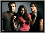 Nina Dobrev, Paul Wesley, The Vampire Diaries, Ian Somerhalder